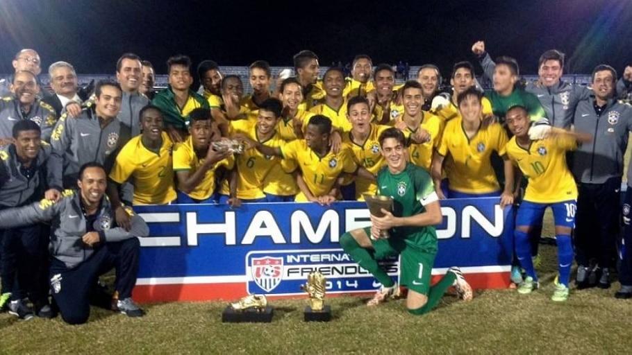 Seleção brasileira sub-17 goleia EUA e fatura título - Divulgação/CBF