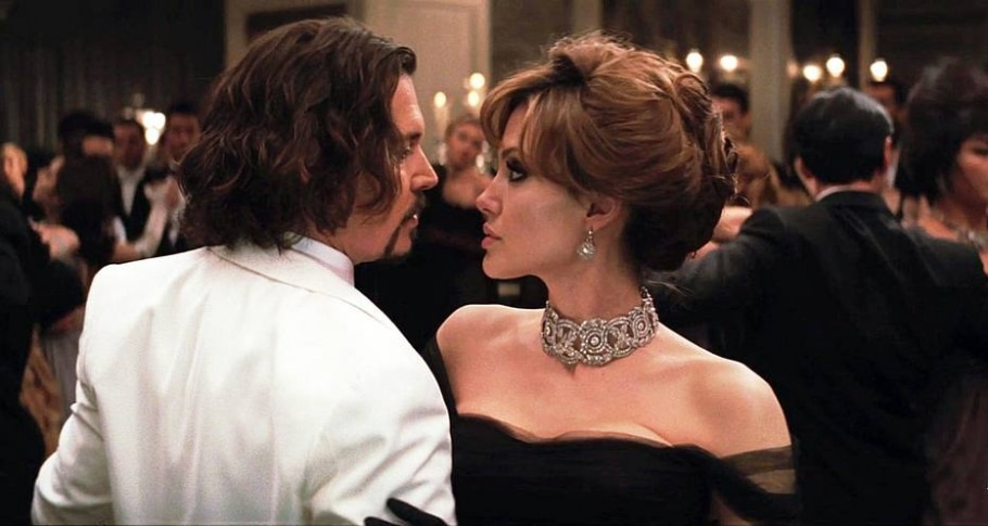 Johnny Depp e Jolie em 'O Turista', de 2010 - SPYGLASS ENTERTAINMENT
