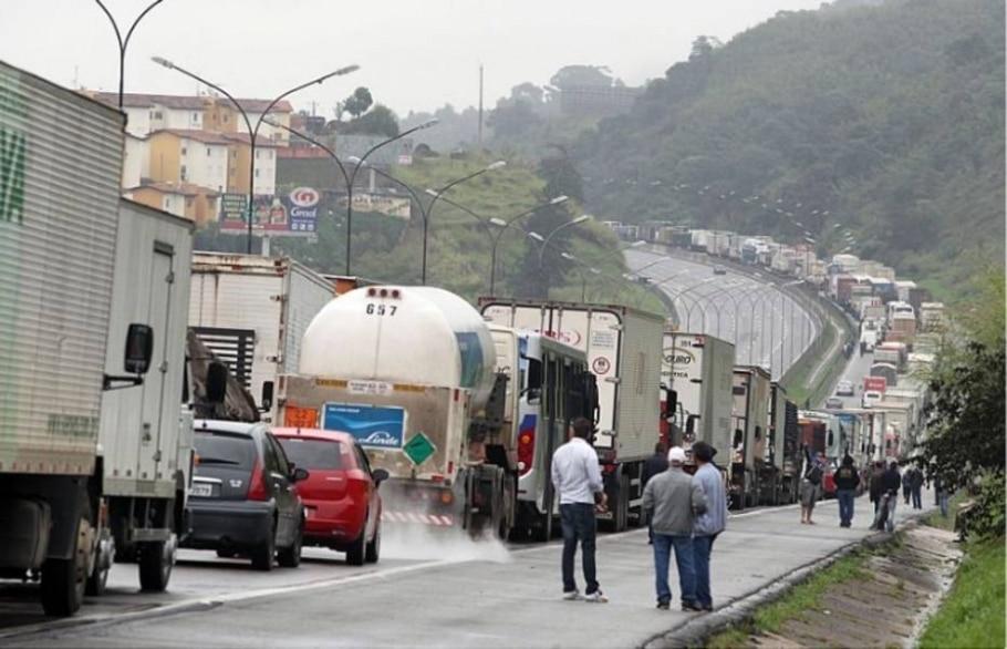 Manifestações em rodovias - Werther Santana/AE