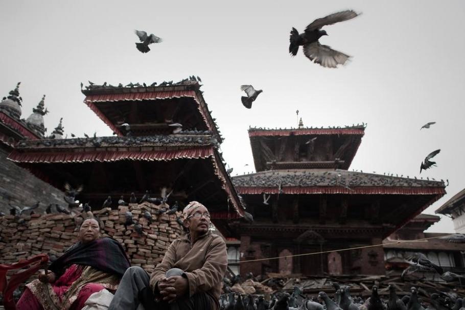 Terremotos no Nepal - Philippe Lopez/AFP