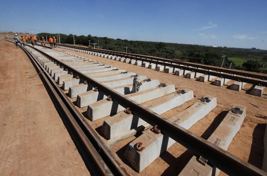 Real interesse brasileiro é a ferrovia da soja - Dida Sampaio/Estadão