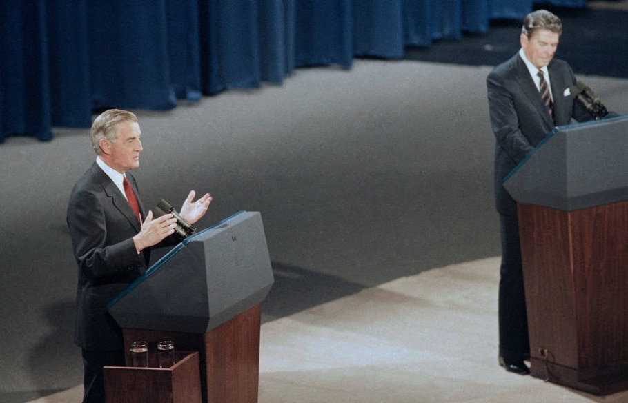 1984 - Reagan e Mondale - Associated Press