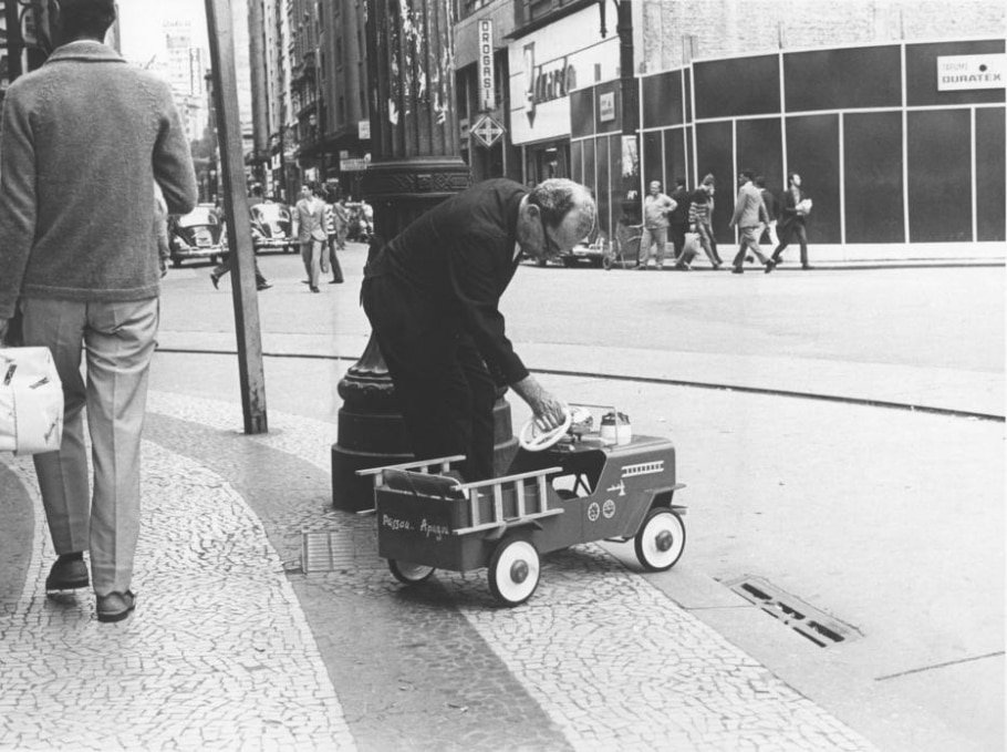 Carrinho de bombeiro - Acervo/ Estadão