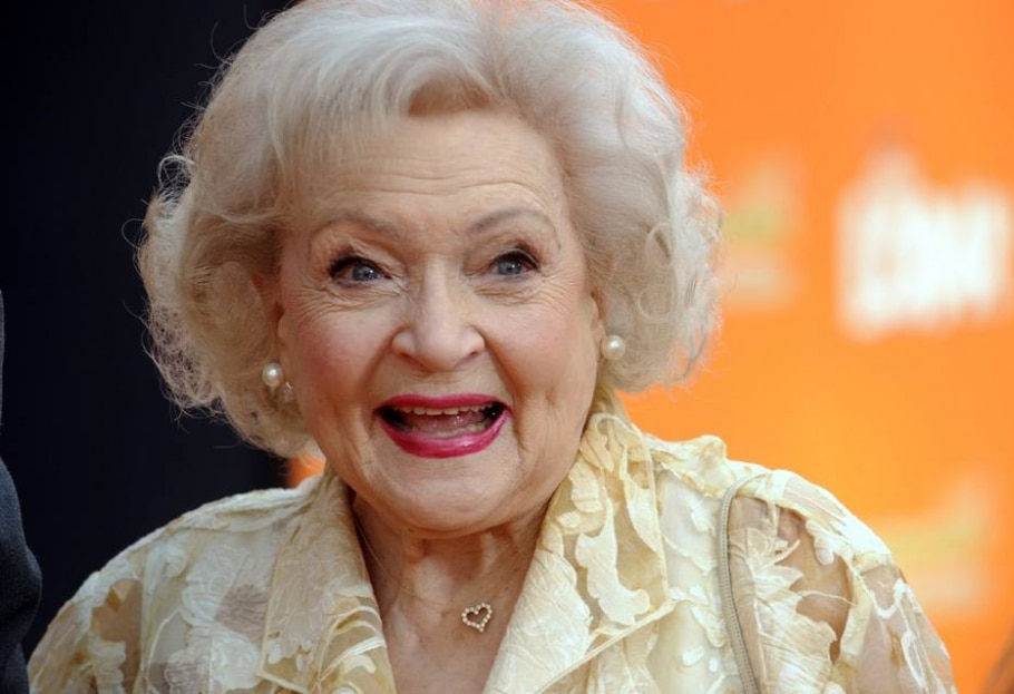 Betty White - Reuters