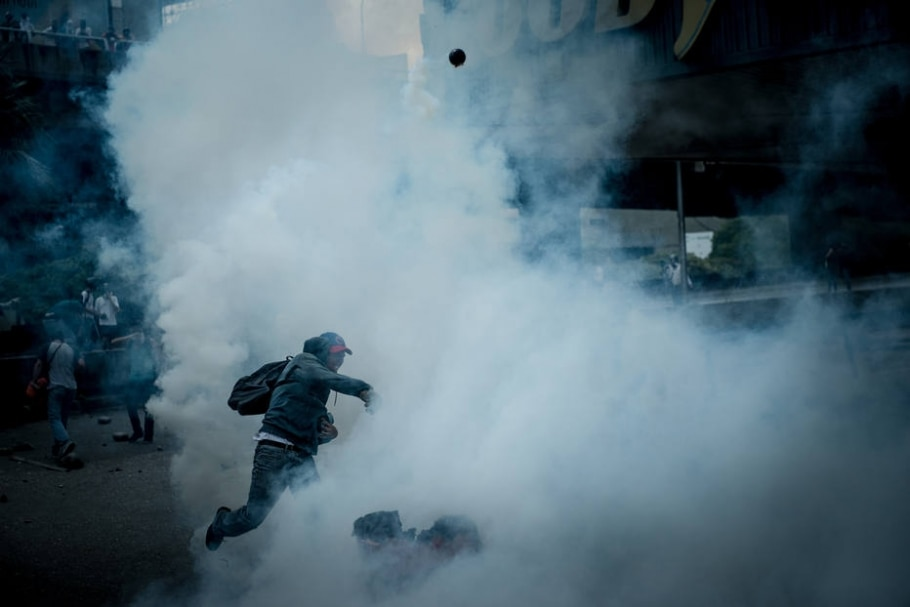 Protestos na Venezuela - Meridith Kohut/The New York Times