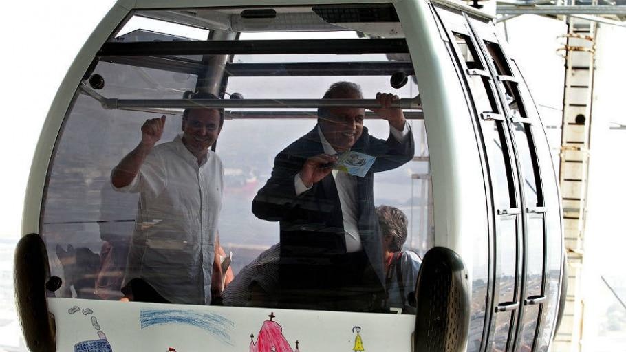 Confira as imagens do transporte que ligará o centro à zona norte do Rio de Janeiro - Marcos de Paula/Estadão