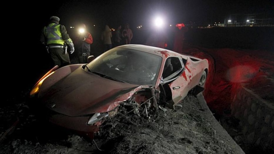 Vidal é detido após acidente no Chile por dirigir alcoolizado - Felipe Fredes/Reuters