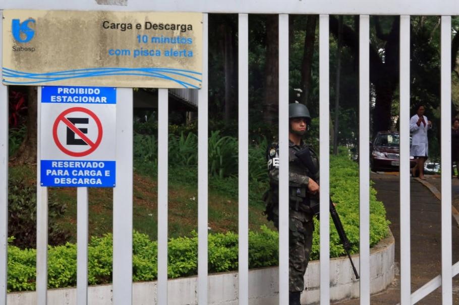Exercício ocorre na sede da companhia, em Pinheiros, na zona oeste - Hélvio Romero/Estadão