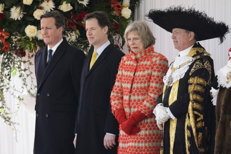 Novo estilo em Downing Street - REUTERS/Leon Neal