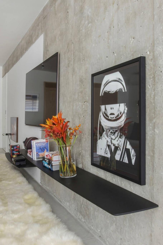 Concreto na decoração - Zeca Wittner/Estadão