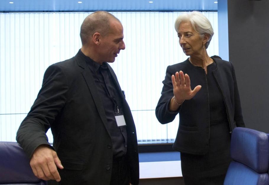Dívida da Grécia não será adiada, alerta FMI - Virginia Mayo/AP