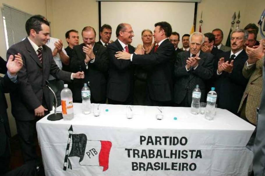 PTB/APOIO/ALCKMIN - José Luis da Conceição/AE