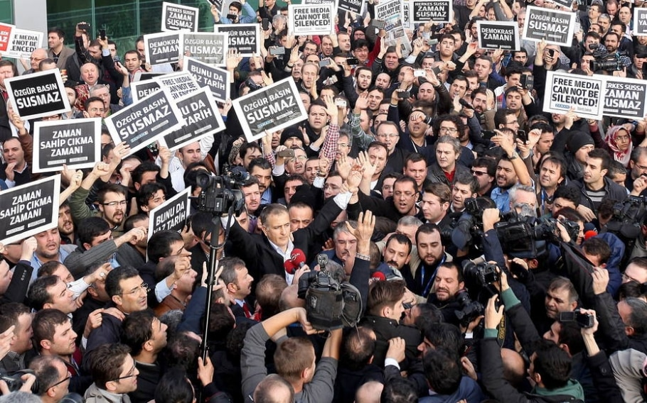 Jornalistas são presos na Turquia acusados de envolvimento com oposição -