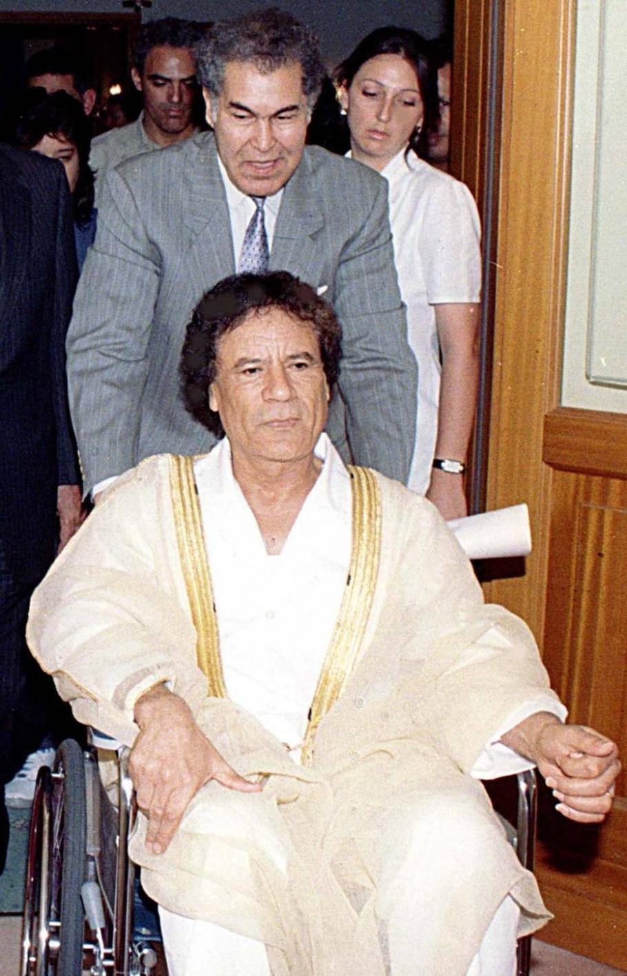 Ditador líbio Muamar Kadafi - REUTERS