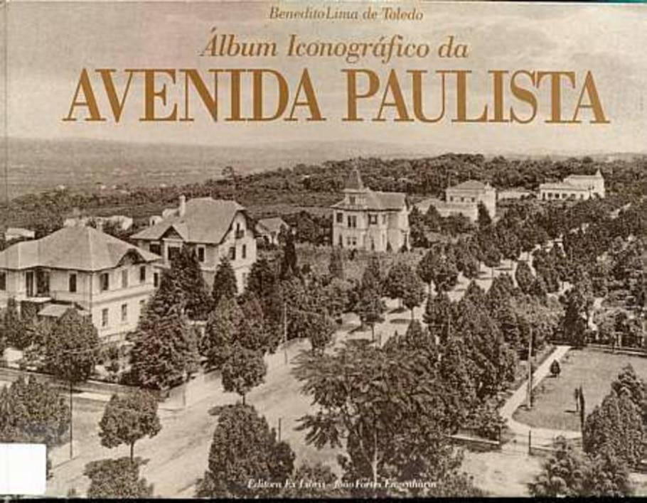 Álbum iconográfico da Avenida Paulista - Reprodução
