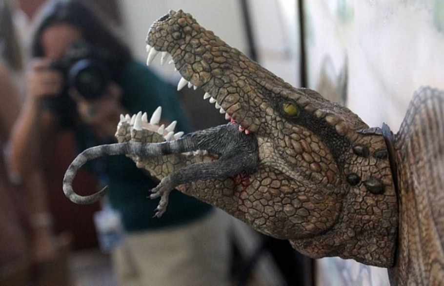Fóssil do réptil, com mais de 60 milhões de anos, foi encontrado na década de 1940 - Marcos de Paula/Estadão