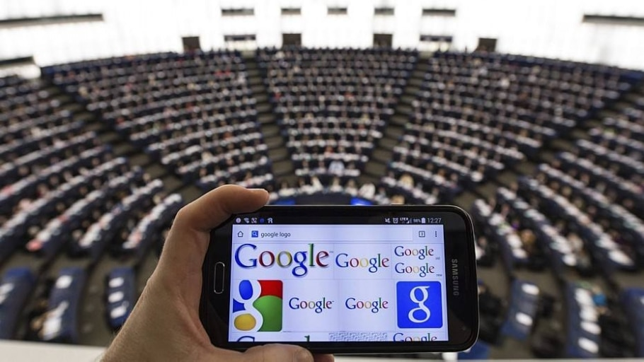 Parlamento Europeu quer dividir o Google - Patrick Seeger/EFE