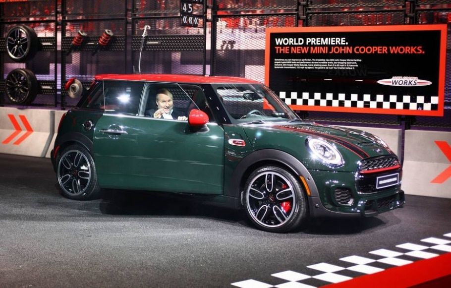 Mini John Cooper Works - AFP PHOTO/JONATHAN KNIGHT