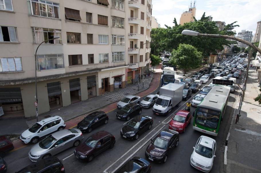 Resgate de ônibus - TIAGO QUEIROZ/ESTADÃO