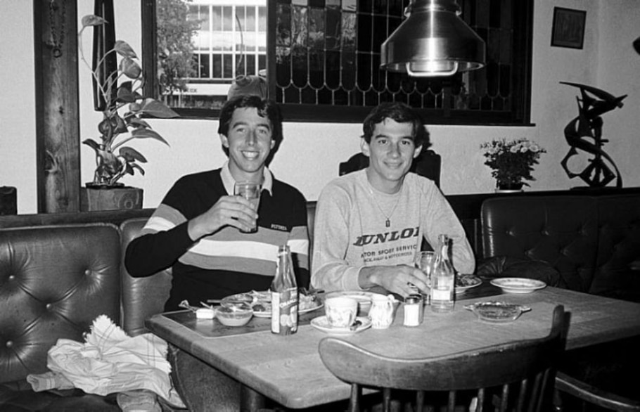 Ayrton Senna é homenageado em mostra de fotografias em São Paulo - Keith Sutton/Divulgação