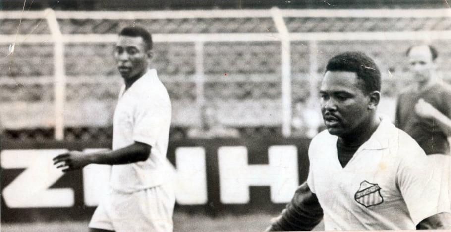 Pelé e Coutinho - Acervo/Estadão