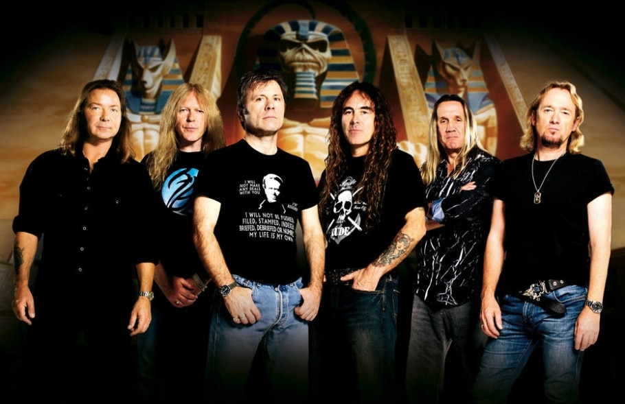 A banda britânica Iron Maiden - Divulgação