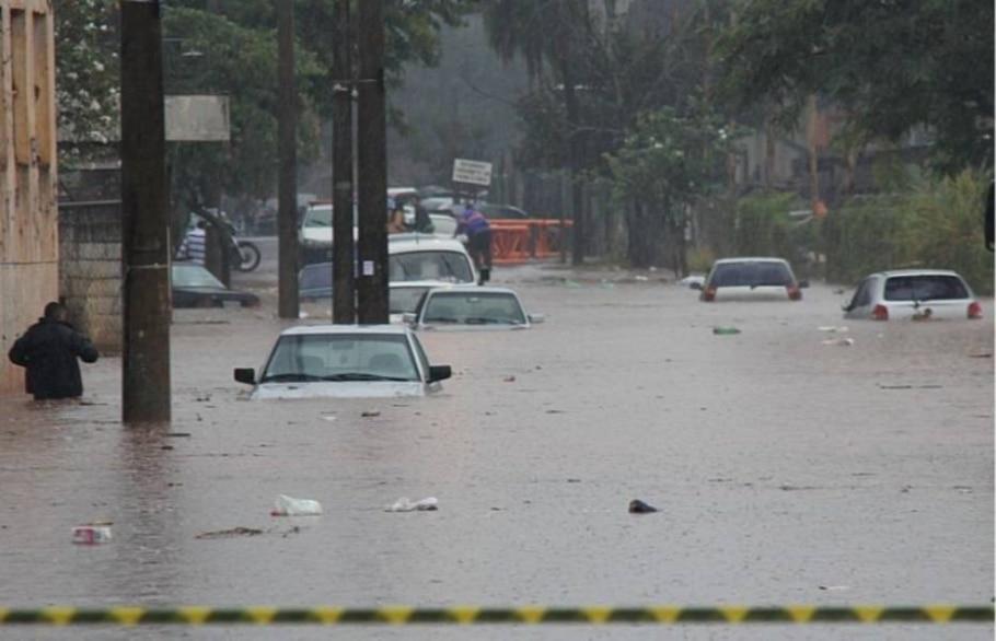 Chuvas no interior de SP - Douglas Reis - Jornal Cidade de Bauru/AE