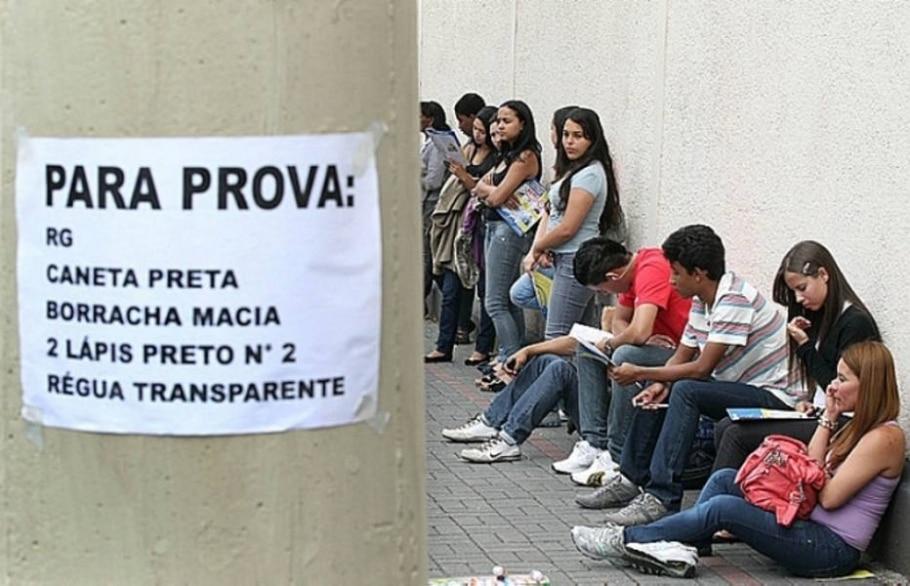 Candidatos do Enem fazem provas de Linguagens, matemática e redação neste domingo - Marcio Fernandes/AE