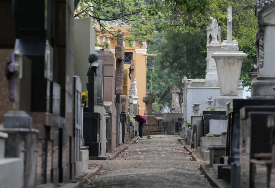3. Cemitérios - Nilton Fukuda/Estadão