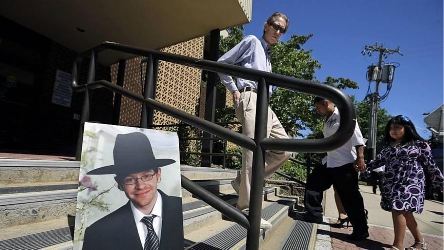 Imagem em escada do judeu morto em Israel enquanto caminhava por uma floresta - Mel Evans/AP