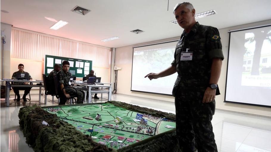 Militares realizam treinamento de segurança para o Rio 2016 - Wilton Junior/Estadão