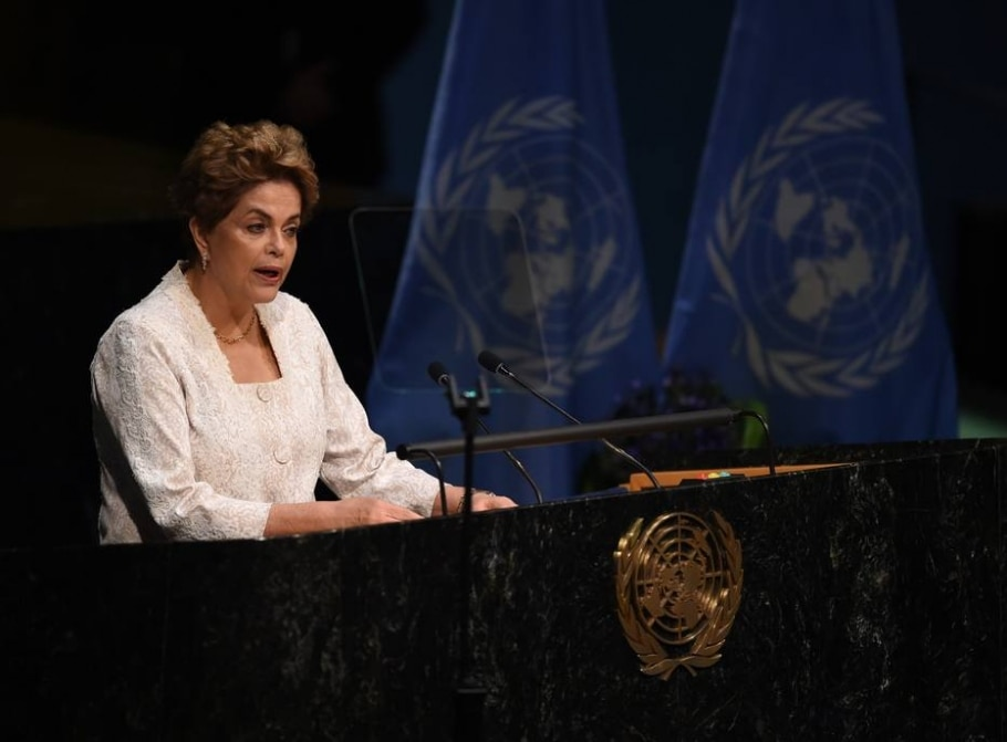 Dilma na ONU - Timothy A. Clary/AFP