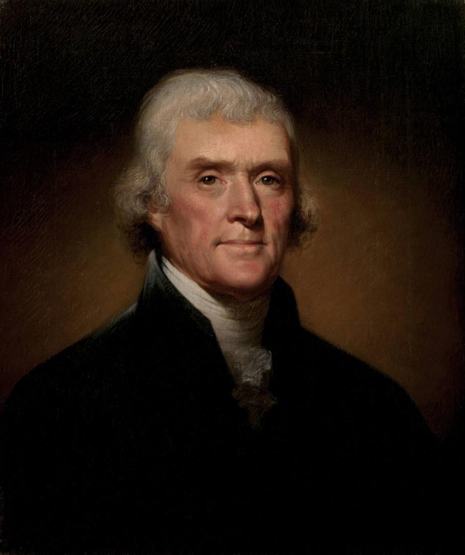 3. Thomas Jefferson - Reprodução