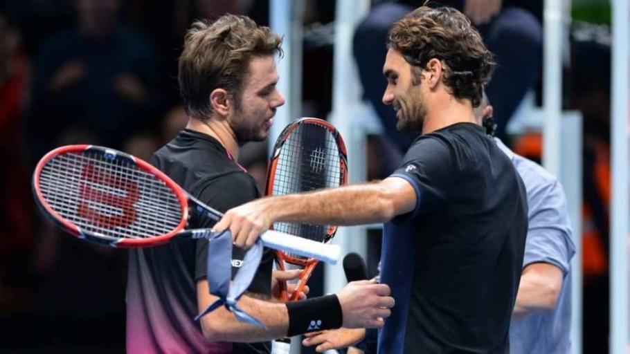 Federer supera Wawrinka - Glyn Kirk/AFP