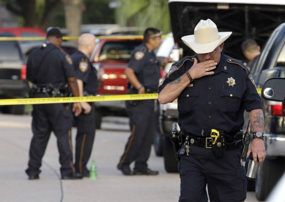 Tiroteio no Texas  - (AP Photo/David J. Phillip)