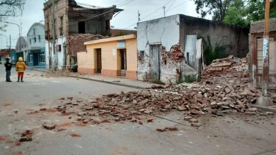 Terremoto na Argentina  - EFE/La Gaceta de Tucuman