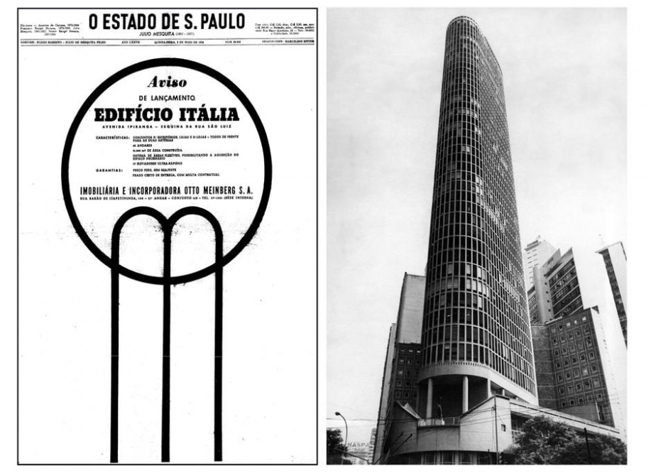 Edifício Itália - Acervo/ Estadão