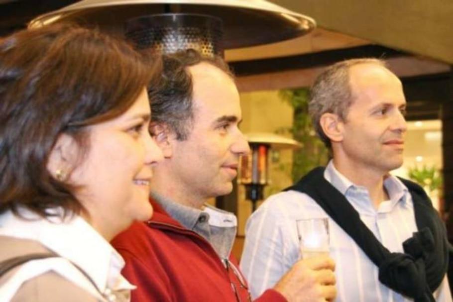 Fernanda Iunes, Guilherme Ferraz e Olavo Ferraz - Denise Andrade/AE