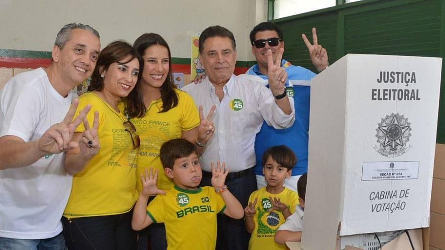Candidatos, aliados e figuras políticas de todo o Brasil vão às urnas neste domingo, 26 de outubro - Paulo Sérgio Sales/SEI
