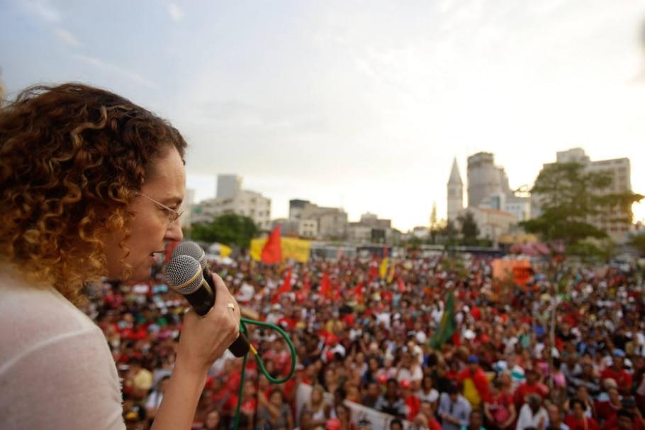 Marcha contra a falta d'água organizada pelo MTST - GABRIELA BILO/ ESTADAO