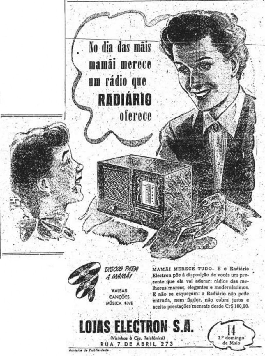 Rádio, 7/5/1950 - Reprodução