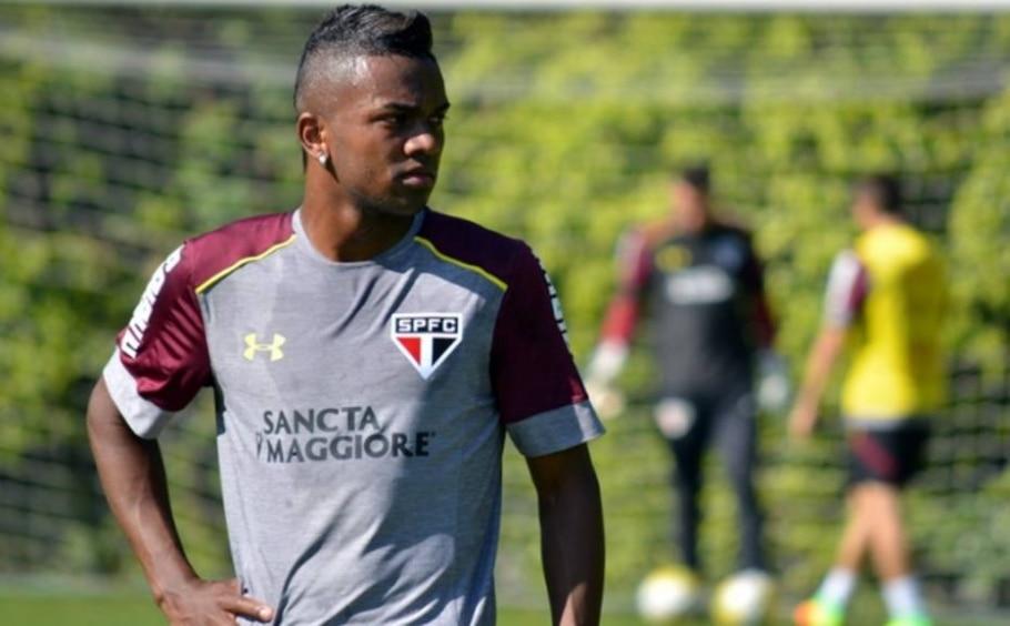 Kelvin, atacante do São Paulo - Erico Leonan/Divulgação
