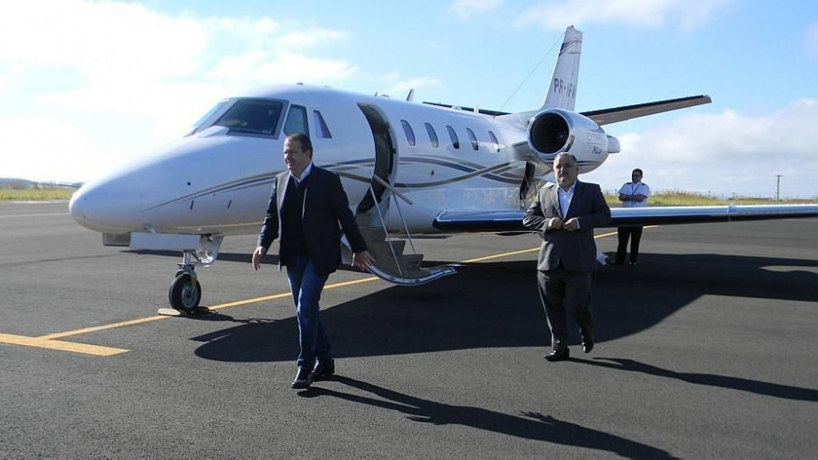 Jato Cessna Citation XLS - René Moreira/Estadão