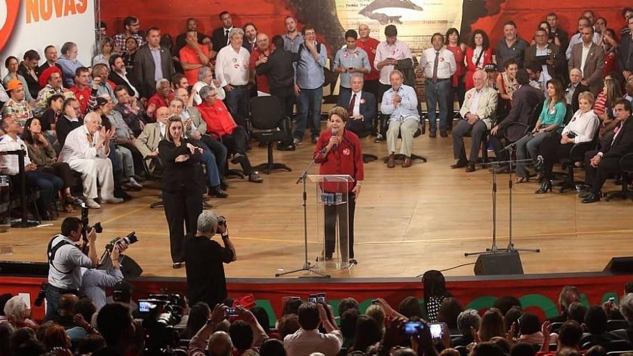 TSE pune Dilma por propaganda com crítica a Aécio - JF Dorio/Estadão