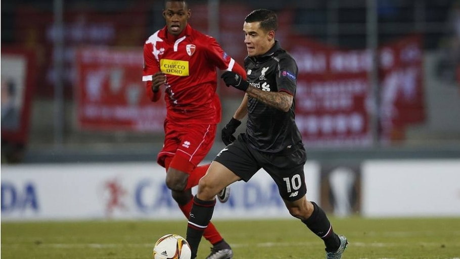 Liverpool Philippe Coutinho - Lee Smith/ Reuters
