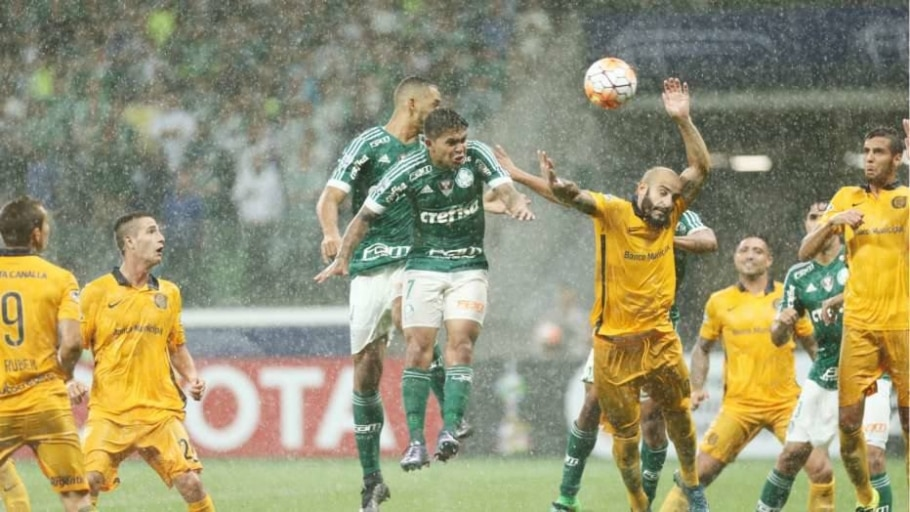 Palmeiras x Rosario Central - Daniel Teixeira/Estadão