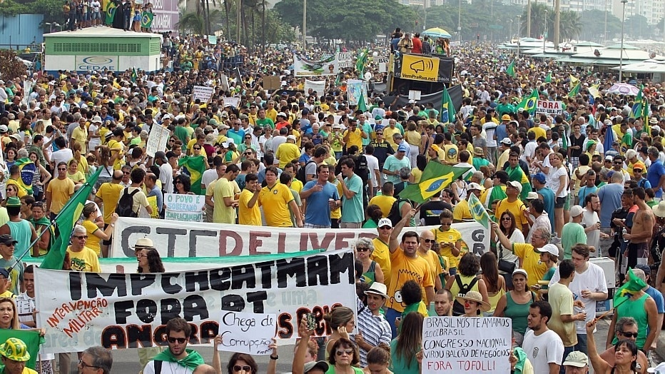 Marcos de Paula/Estadão - Protesto no Rio