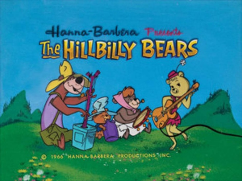 Reprodução de cena de 'The Hillbilly Bears' (1965) / Hanna-Barbera