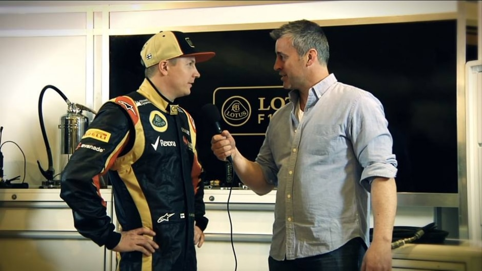 YouTube / Lotus F1 Team