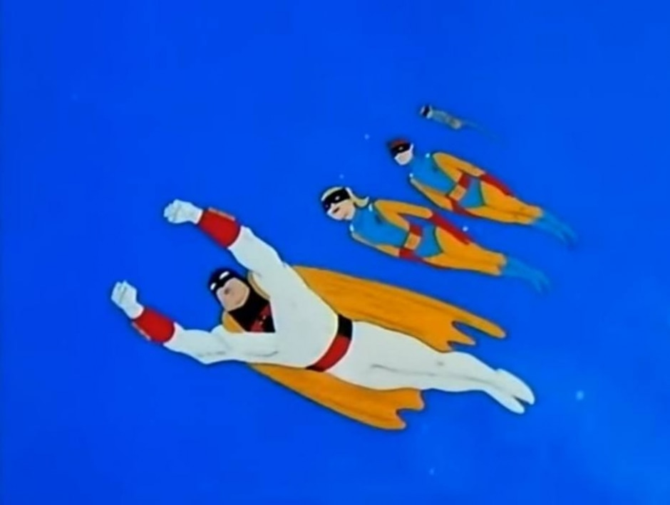 Reprodução de cena do desenho 'Space Ghost' (1966) / Hannah-Barbera Productions